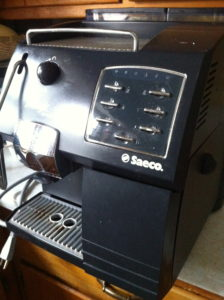 My old Saeco De Luxe Coffee Maker