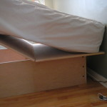 Do It Yourself Storage Bed Frame How We Built An Under