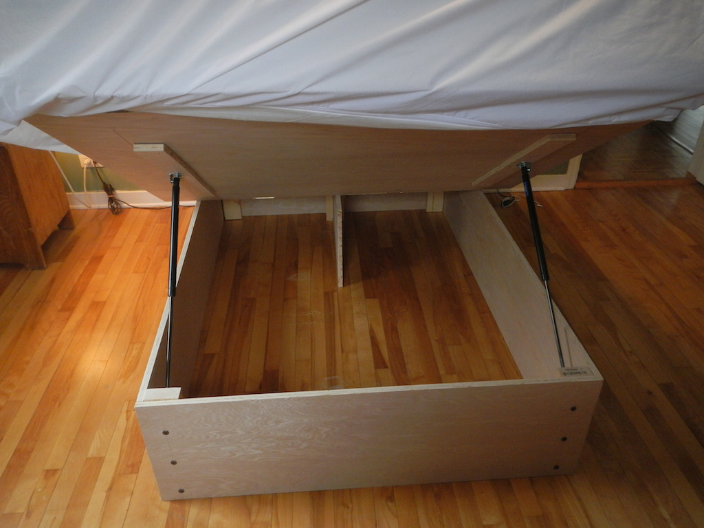Storage Bed Frame Diy 82 Dave Gates