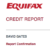 How To Monitor Your Credit Report