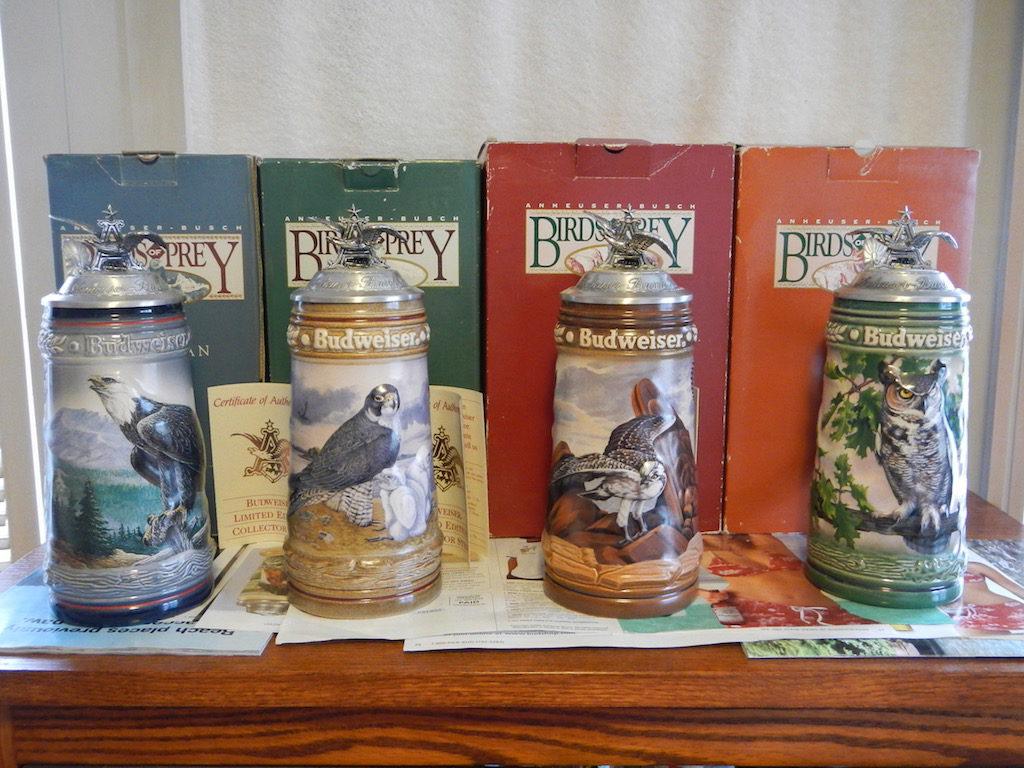 Birds of Prey Stein Collection