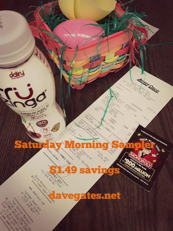 Saturday Morning Sampler