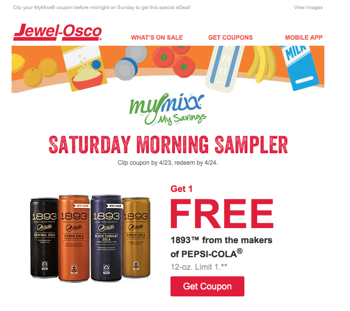 Saturday Morning Sampler Email