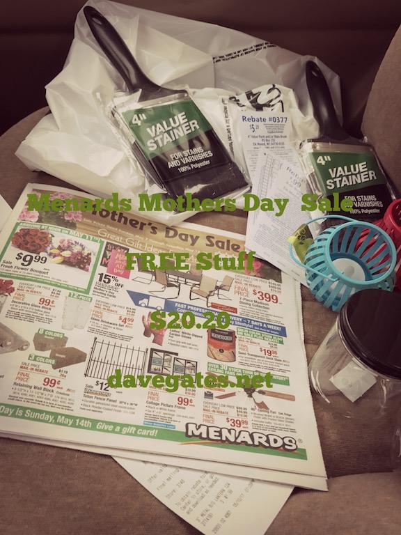 Menards Free Stuff