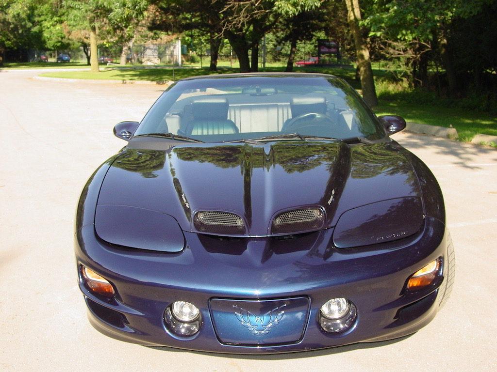 2001 Pontiac Trans Am WS6 Convertible, Navy Blue Metallic