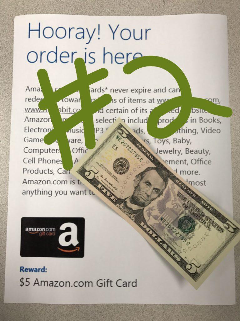 Microsoft Rewards $5 Gift Card