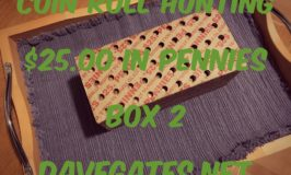 Coin Roll Hunting $25 in Pennies – Box 2