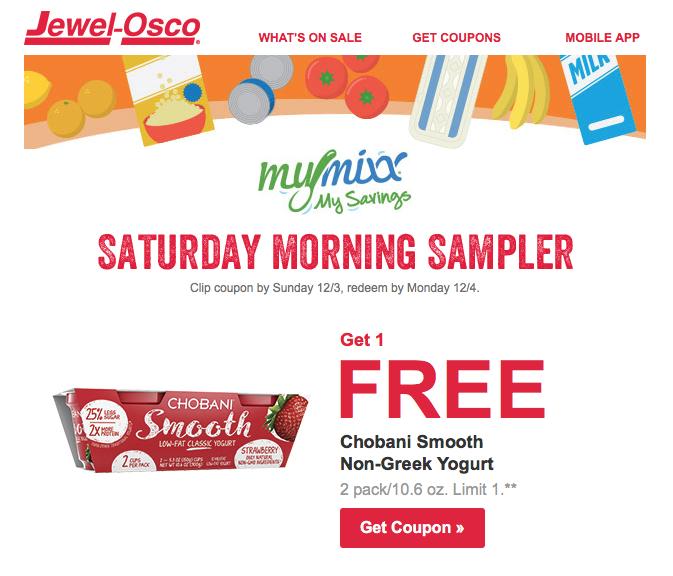 Jewel-Osco MyMixx Free