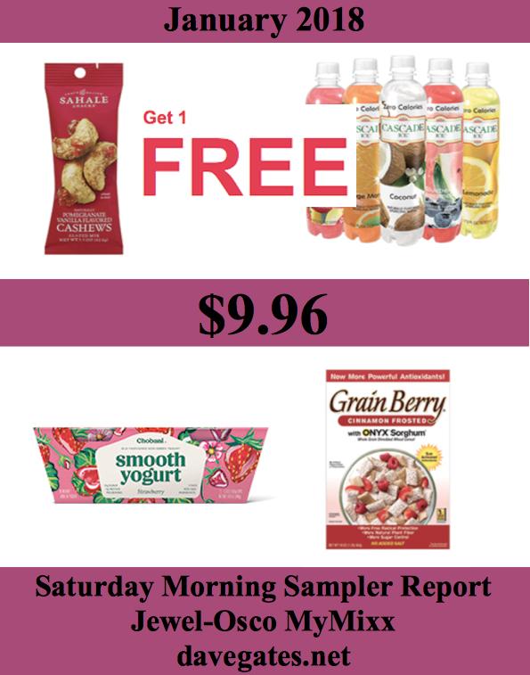 Saturday Morning Sampler Report January 2018
