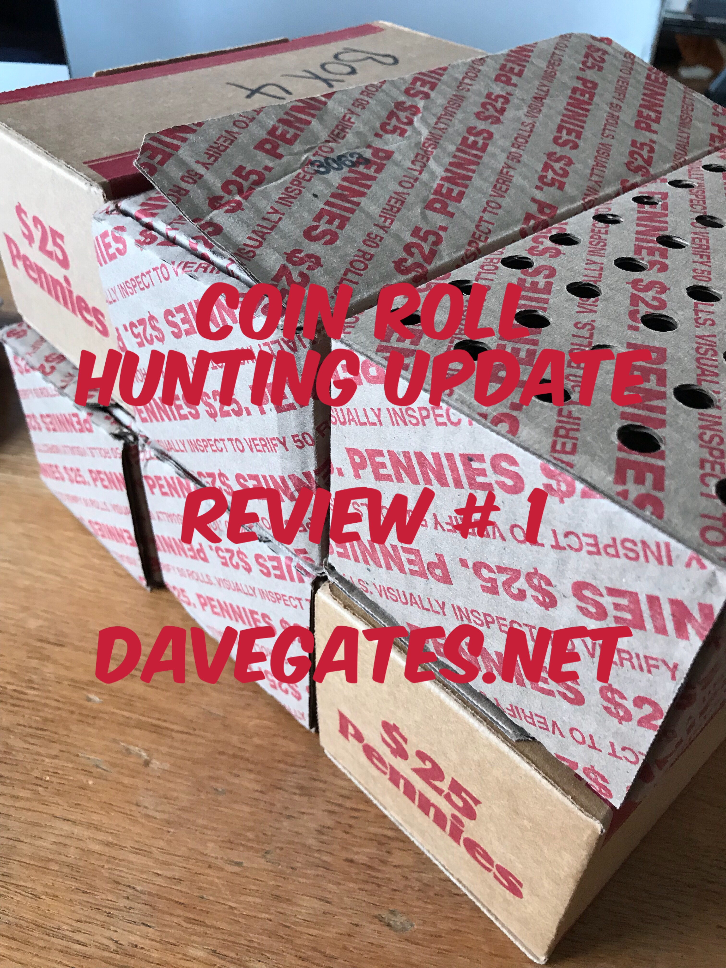 Coin Roll Hunting Pennies Update Review 1 Dave Gates,4 Prong Dryer Cord To 3 Prong
