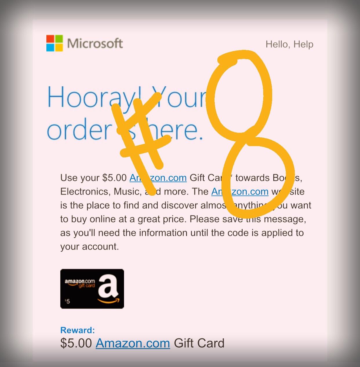 Microsoft Reward Points